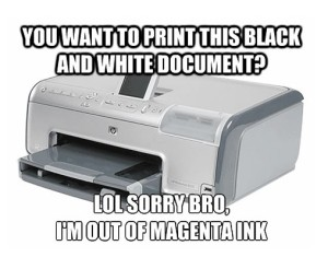 7 Amazingly Funny Printer Pictures 187 Toner Cartridge