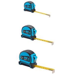 OX Pro Dual Auto Lock Tape Measure - 3 / 5/ 8 m