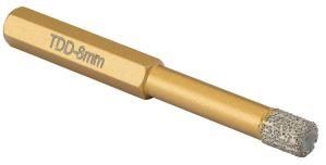 OX Trade Dry Diamond Tile Drill - TDD-05/ 06 / 07 / 08 / 10 / 12