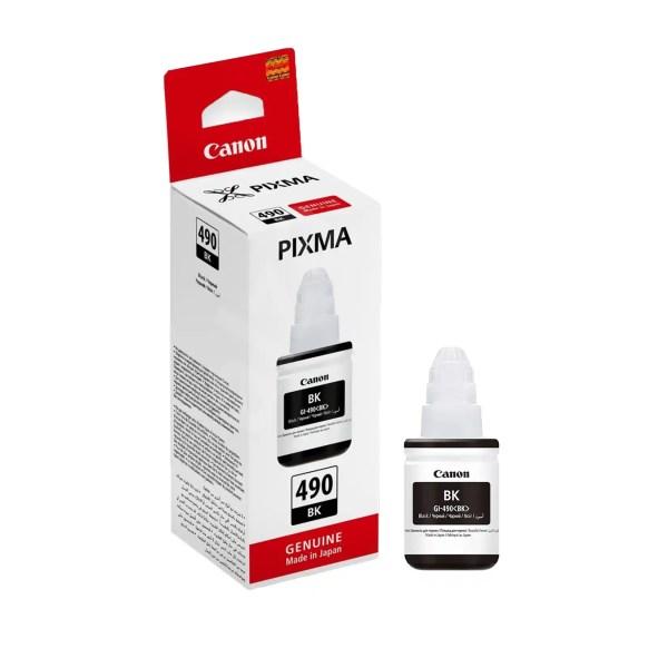 Canon GI-490 BK Mastilo Original Crno Black