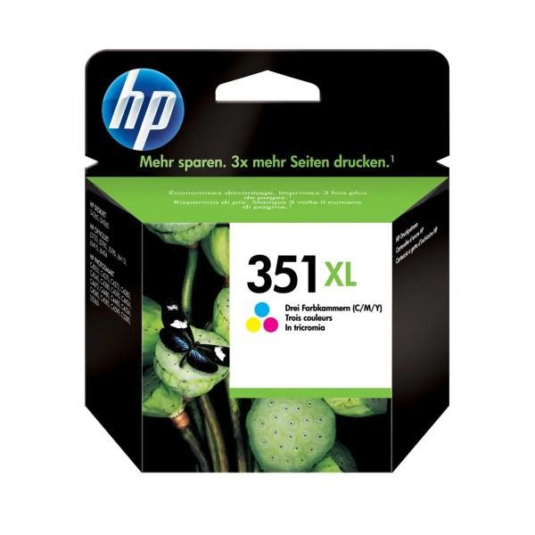 HP 351 XL Kertridž Original Tri-Color / CB338EE