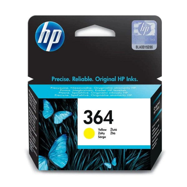 HP 364 Kertridž Original Yellow Žuti / CB320EE