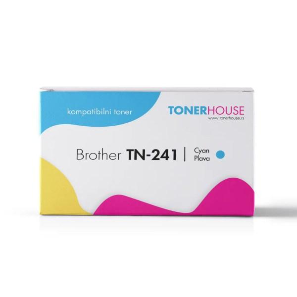 Brother TN-241C Toner Kompatibilni Plavi Cyan