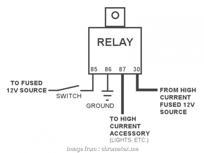 diagram radio shack automotive relay wiring diagram full