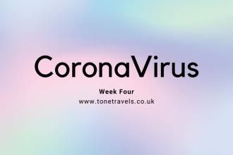 CoronaVirus Week 4