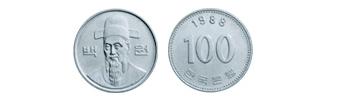 one hundred won