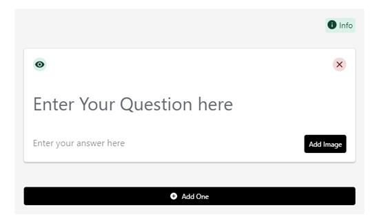 Formulario de preguntas y respuestas del esquema de preguntas frecuentes