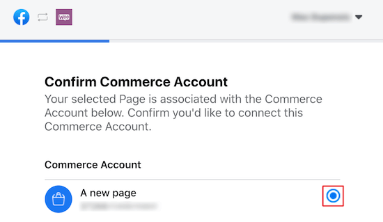 Confirmar cuenta comercial