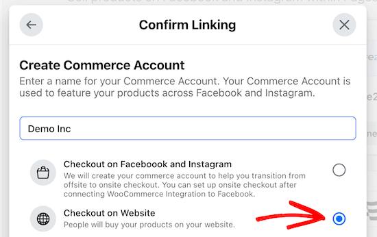 Pagar en el sitio web de WooCommerce