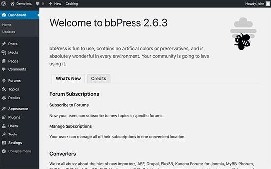 Bienvenido a bbPress