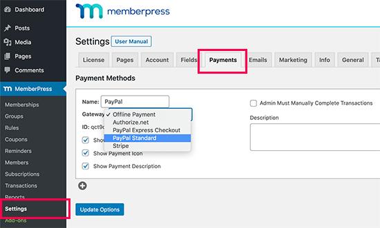 Agregue un método de pago para sus suscripciones al muro de pago