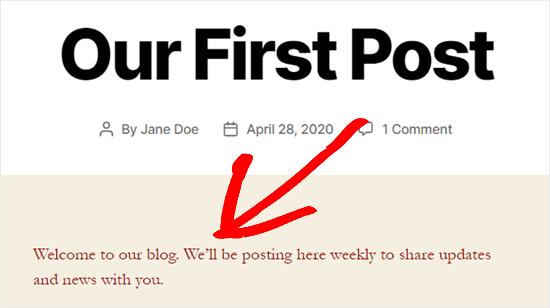 Color de texto personalizado en todo el sitio mediante código CSS