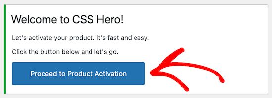 Activar CSS Hero plugin