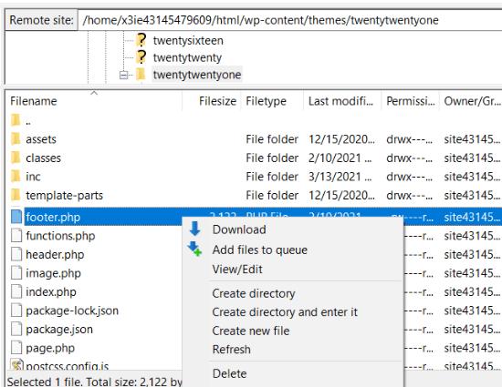 Descarga y edita tu archivo de tema