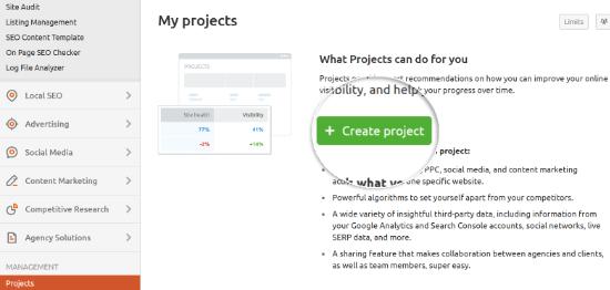 Crea un nuevo proyecto
