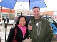 ตากฝนไปรอโต๊ะ1 มกราคม 2554 (ภาพจาก Heights Arts)