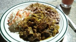 Curry Goat ที่ Chicken Lavish