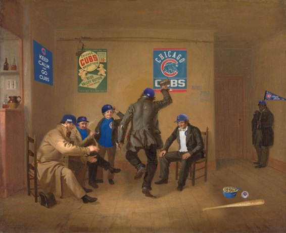 Barroom Scene (1835) William Sidney Mount, 1807–1868