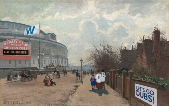 The Crystal Palace (1871) Camille Pissarro 1830-1903