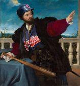 Portrait of a Man, possibly Girolamo Rosati (1533-1534) Lorenzo Lotto, 1480-1556