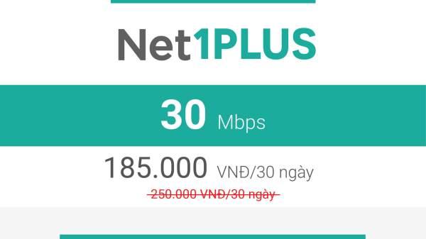 gói cước net1plus viettel 2019