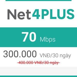 khuyến mãi lắp mạng viettel net 4 plus