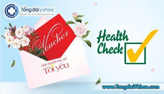 voucher khám sức khỏe tổng quát ưu đãi khám sức khỏe