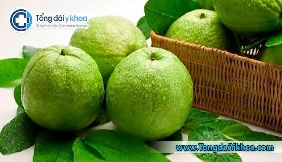 Ổi có một trong số lượng vitamin-C và sắt cao nhất trong số các loại trái cây.