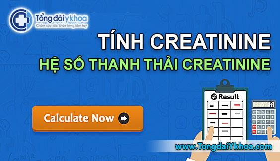 tinh do thanh thai creatinin tinh creatinin Creatinine Clearance Calculator - CRCL Calculator