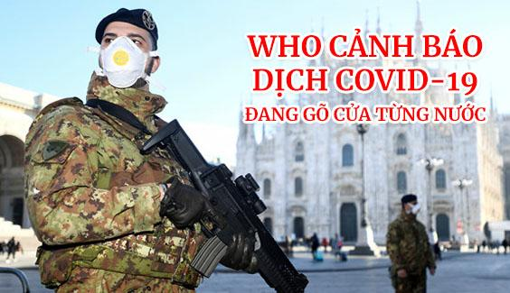 who canh bao dich covid 19 dang go cua tung nuoc