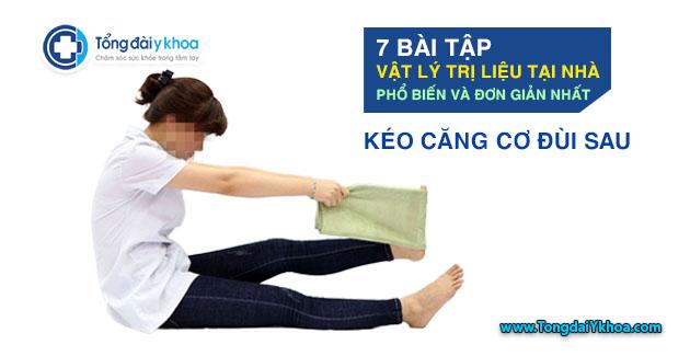 bai tap vat y tri lieu tai nha phuc hoi chuc nang keo cang co dui sau
