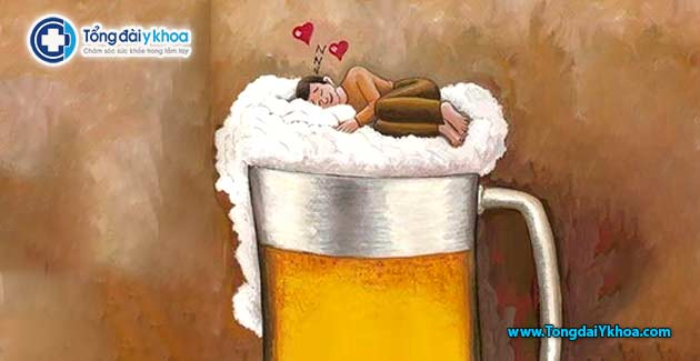 bia ruou khong giup ngu ngon hon