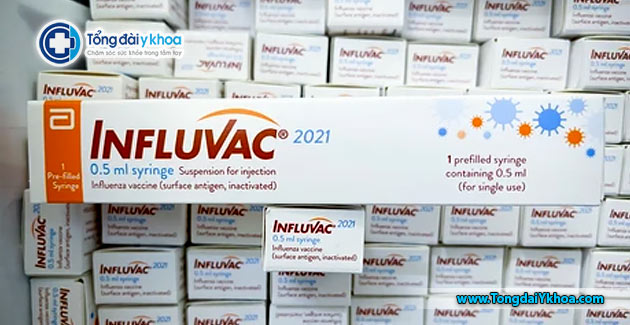 Vắc xin cúm Influvac 0.5m