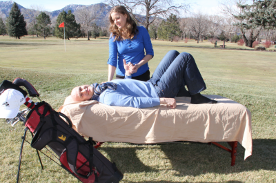 Massage in Boulder for golfers health