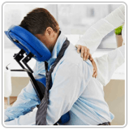 Denver Massage with chair massage and corporate massage at your office or event. We have you covered for massage Denver