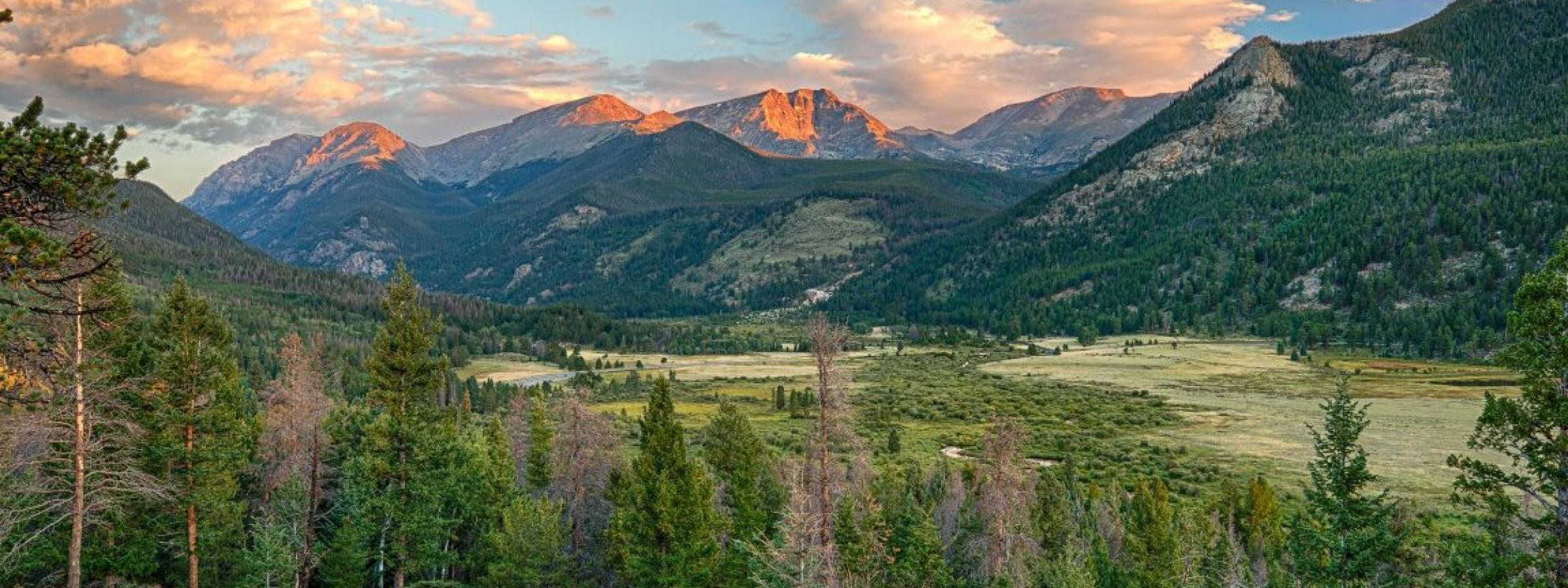 Rocky Mountain National Park Colorado outdoor health