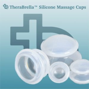 massage cups by TheraBrella™ - buy here for cupping therapy at home