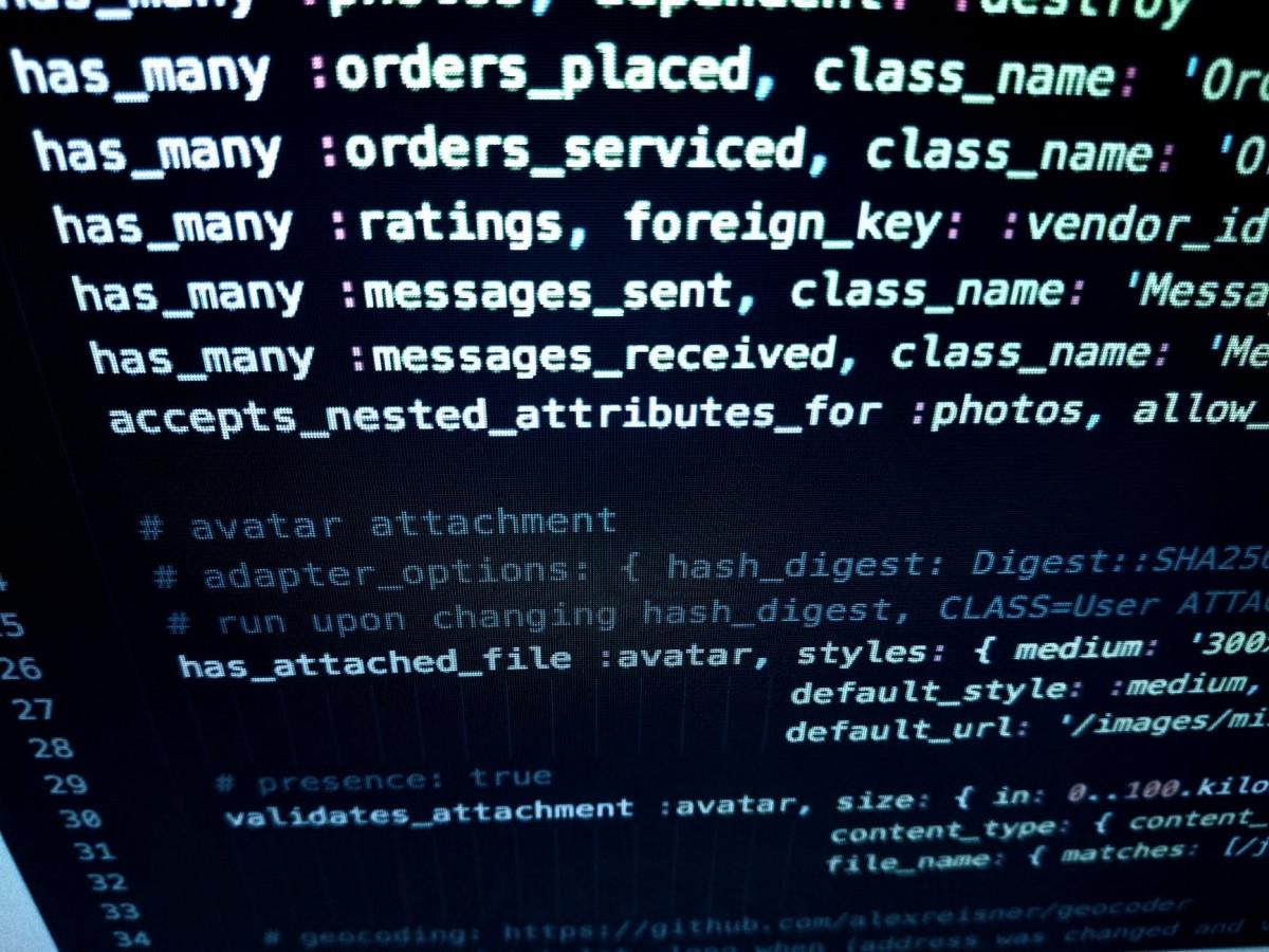 computer screen screengrab