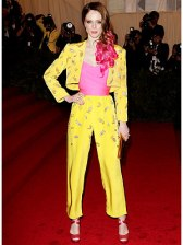 Coco Rocha at this year's Met Gala.