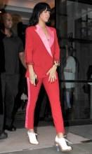 Rihanna wearing Acne