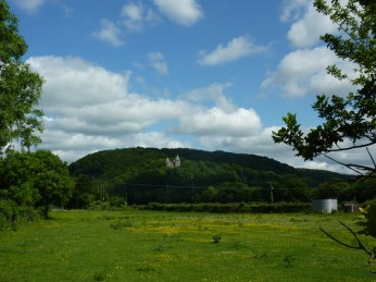 Castell Coch in the distance