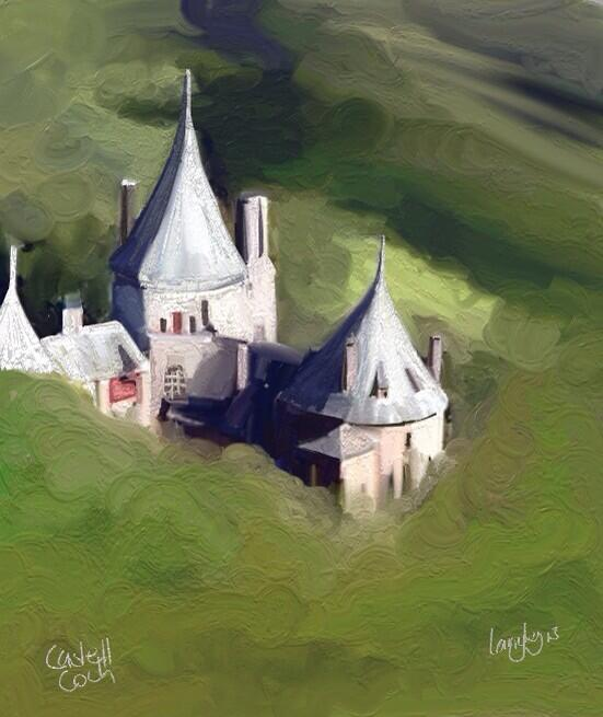 Castell Coch by Christopher Langley