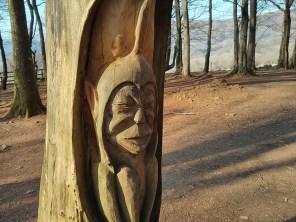 Fforest Fawr sculpture