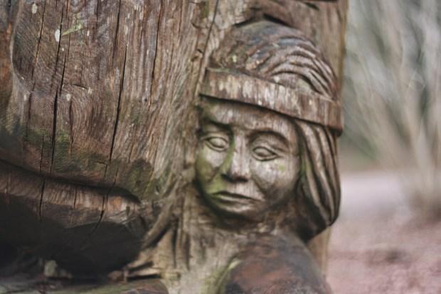 Sculpture trail man