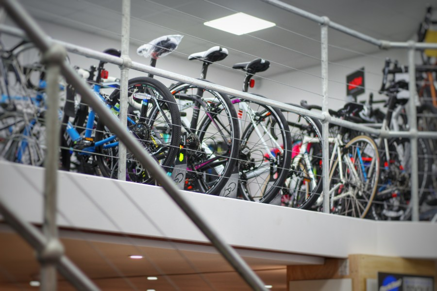 The Bike Shed showroom