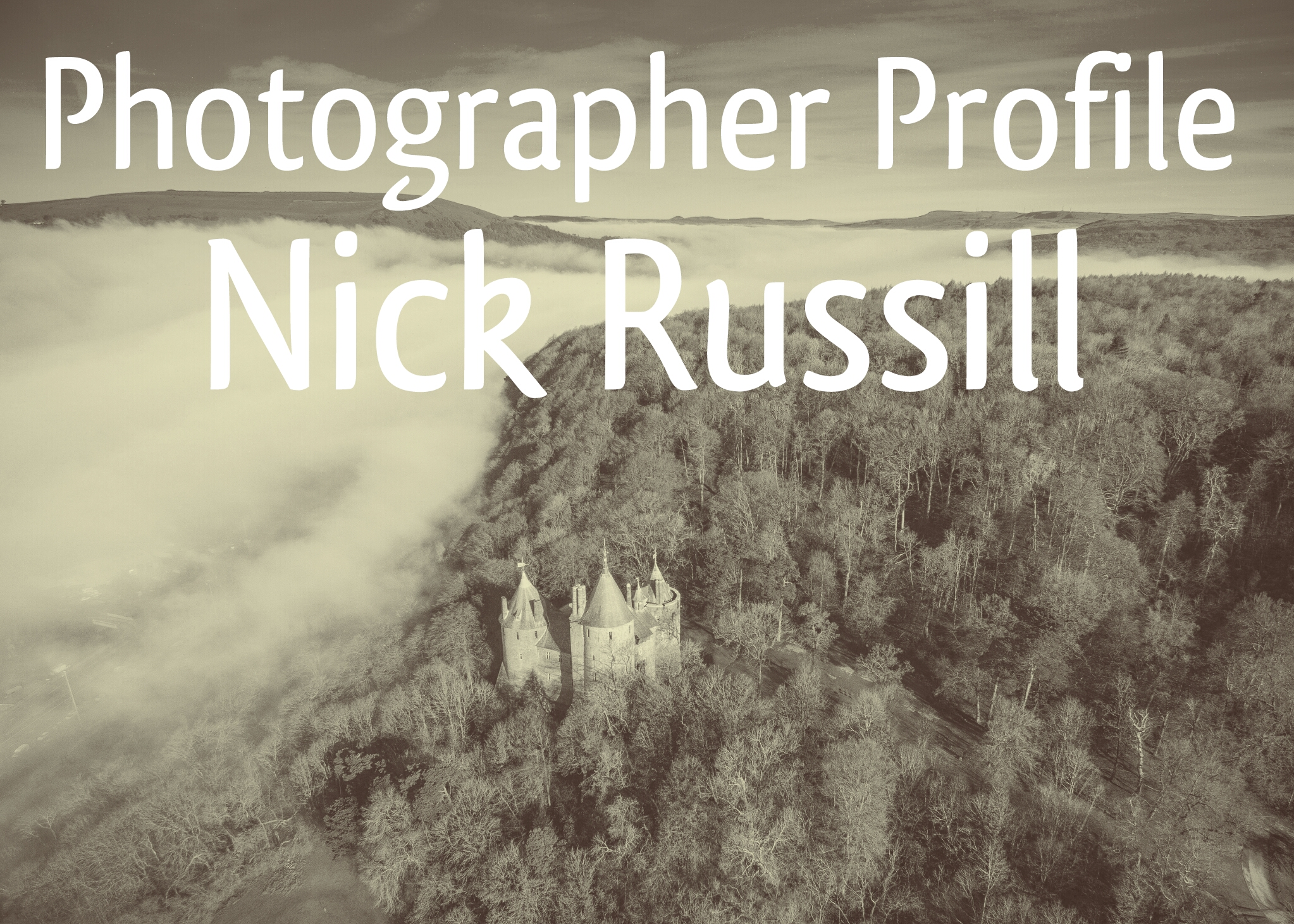 Photographer Profile Nick Russill header