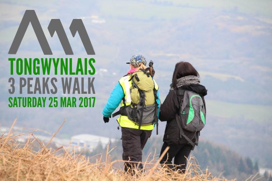 Ton 3 Peaks walk poster