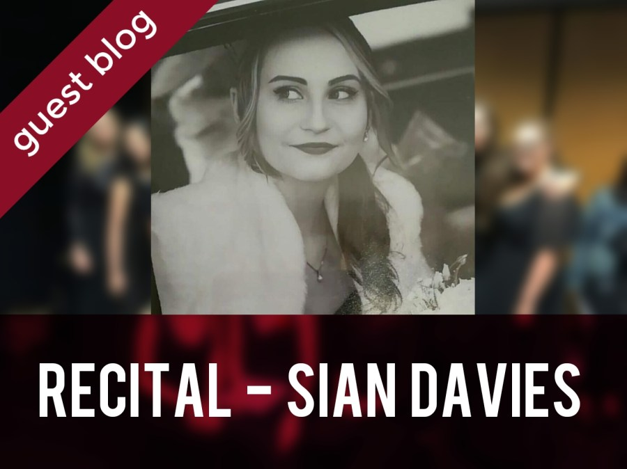 Recital - Siân Davies header