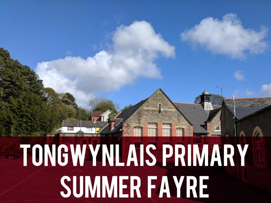Tongwynlais Primary Summer Fayre header