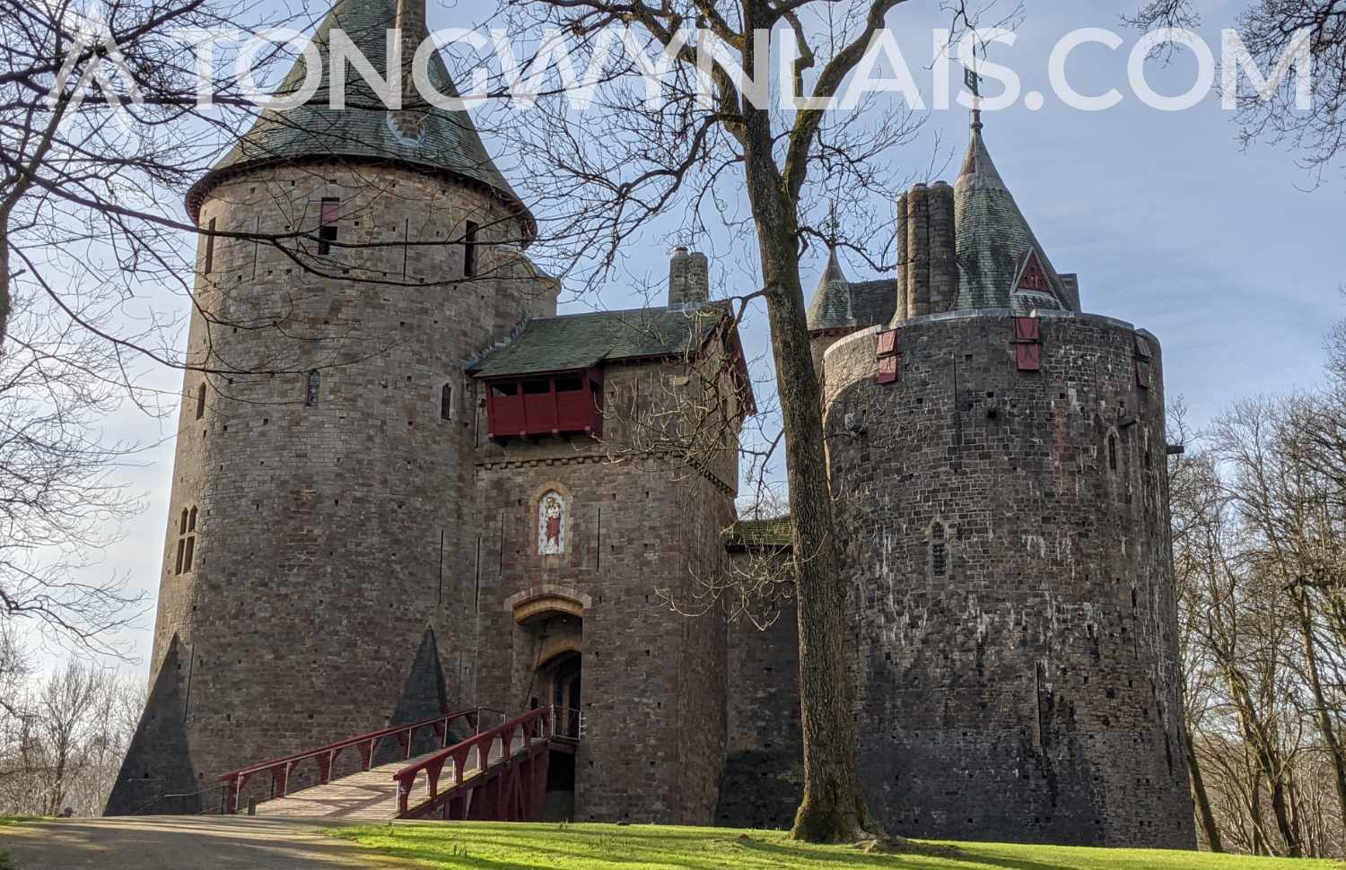 Photo of Castell Coch from Feb 2020